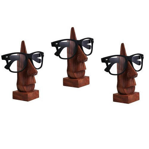 fb953d2b7276 Brown Wooden Spectacle Holder