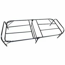 Black Iron Folding Bed Frames Structure
