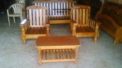 Brown Teak Wood Sofa Set Rs 26000 Set Subashree Furniture Id