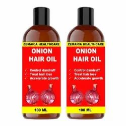 Zemaica Healthcare Onion Oil For Hair Regrowth 200ml Pair 2