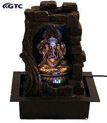 Lord Ganesha Water Fountain Shree Ganesha Home Decorative - (ITN-1159113)