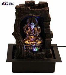Lord Ganesha Water Fountain Shree Ganesha  Home Decorative - (ITN-1159113)
