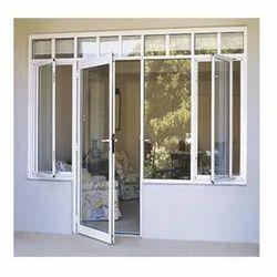 Powder Coated Aluminium Casement Door for Home