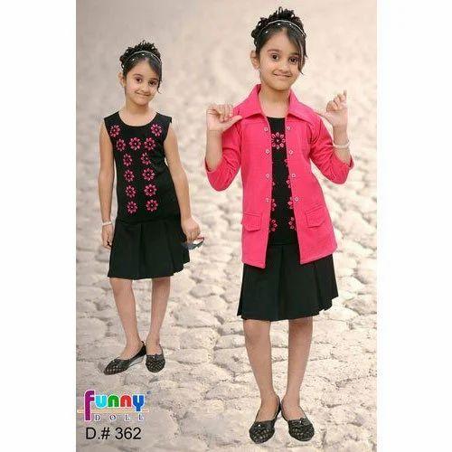 a71cb00dc982 Kids Girl Kids Dress With Shrug