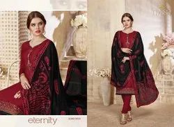 Nyssa Cotton Designer Dupatta Suit