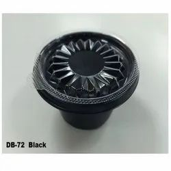DB-72-Black Plastic Container