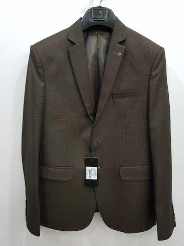 e41da3c27b0 Amador Blue And Green Mens Formal Suit