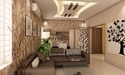 Pop Ceiling Design With Partition