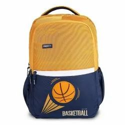 Priority Frolic Basket Ball Printed Casual School Waterproof Backpack (40 L)