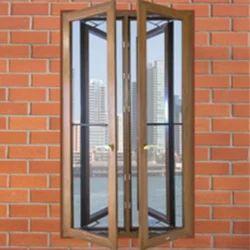 Brown Villa Wooden Window, Height: 3-4 feet