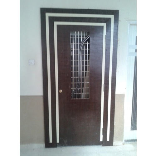 Iron Hinged Designer Safety Door Rs 7000 Piece Santoshi
