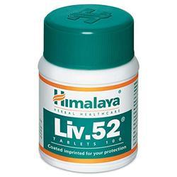 Liv.52 - Himalaya, 100 Tablets In A Bottle, Packaging Type: Plastic Bottle