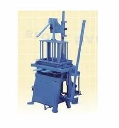 Manual Flyash and Cement Bricks Machine