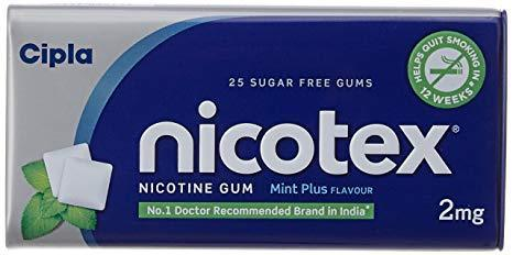Stop Smoking and Stop Drinking - Nicotex Chewing Gum