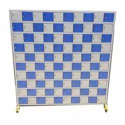 Mild Steel Color Coated Mobile Locker, Size/Dimension: 5 x 5 feet