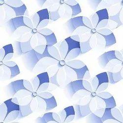 Floral 3D Digital Print Glazed Tiles from Gujarat Morbi, Thickness: 8 - 10 mm, Size: Medium