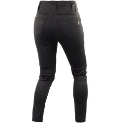 Stretchable Ladies Black Skinny Denim Jeans, Waist Size: 28-42 Inch