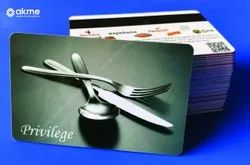 Free Of Cost Designing Service Multicolor Membership Cards For Restaurant