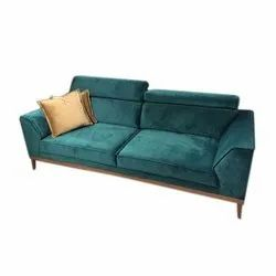 Velvet Two Seater Sofa
