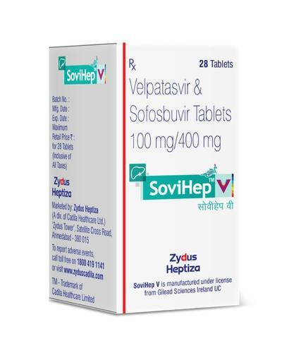 Velpatasvir and Sofosbuvir Tablets