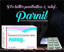 Paracetamol 325 mg Domperidone 1