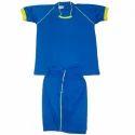 Blue Football Uniform