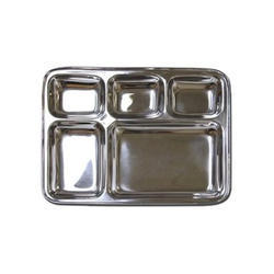Silver Ss Food Trays, Size: Standard