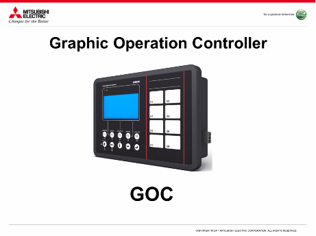 Graphic Operation Controller (GOC)
