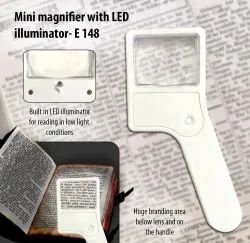 E148 - Mini Magnifier With Torch