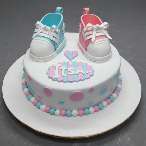 Baby Shower Cakes Baby Shower Cake 3d 1272 Animal Crop