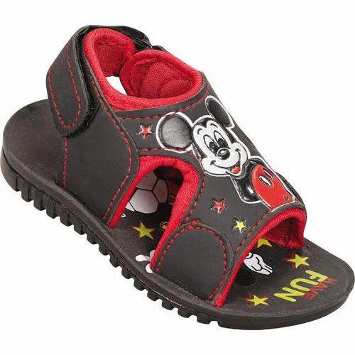 Kiero Boy Mickey Mouse Printed Sandal