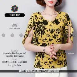 Georgette Casual Wear Hi Fashion Tulip Top