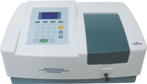 LABTRONICS Single Beam UV Visible Spectrophotometer, LT-291,Application:  Industrial , Laboratory,   ID: 2930296830