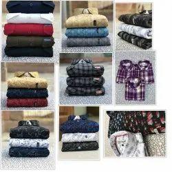 multi Casual Wear Branded Checks Men''S Shirts, Machine wash