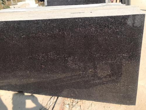 Leather Brown Granite Slab Thickness 20 25 Mm Application Area