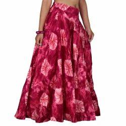 Cotton Silk Skirt