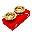 Designer Brass Bowls Set