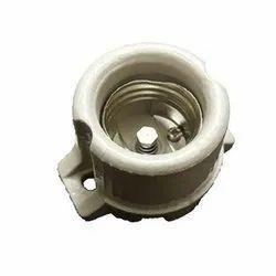 Off White Ceramic Holder, Base Type: E27