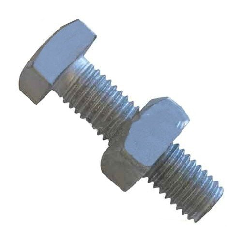 ME Hot Dip And Zinc Electro Galvanized Square Bolt, Size: M16 To M100