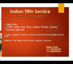 Indian Tiffin Service, in Lucknow