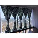 Cotton Printed Designer Curtain, For Window