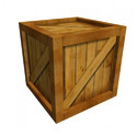 Square Wooden Box