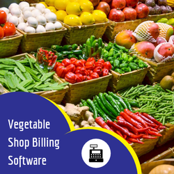 Vegetables Shops Billing Software