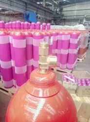 Ethylene Gas In Cylinder