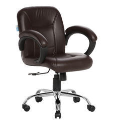 Acabado Brown LB Workstation Chair
