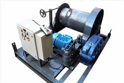 1 Ton Electric Wire Rope Winch Machine