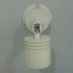 Round Warm White Wall Mounted Down Light, 10 W, IP20