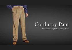 Brown Smart Looking Corduroy Pant