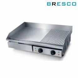 Bresco Electric Griddle Plate with Grooves, Size: 730 x 470 x 240 mm