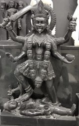 Devi Kali Marble Statue